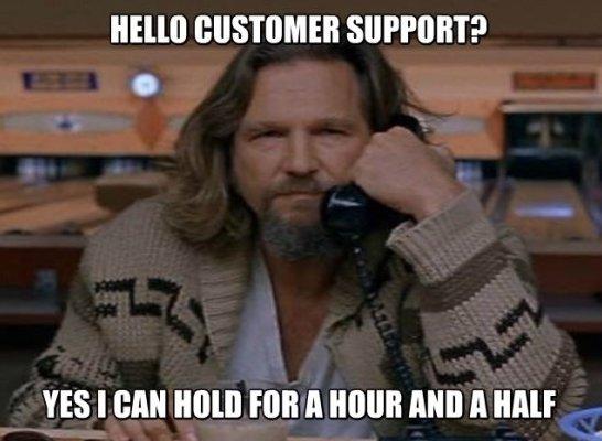 Lebowski Customer Service